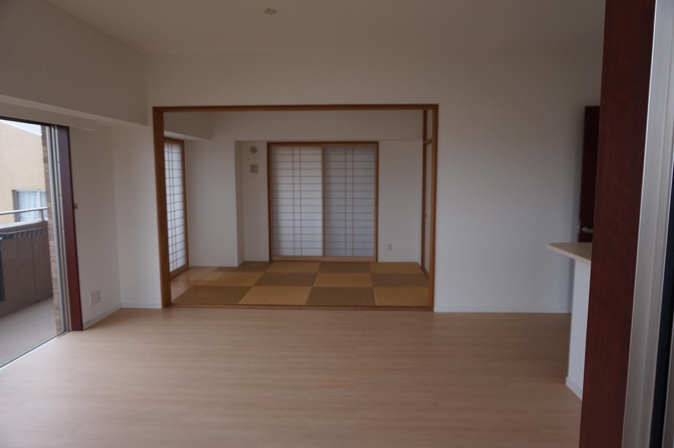 琉球畳の和室もゆったり出来ます