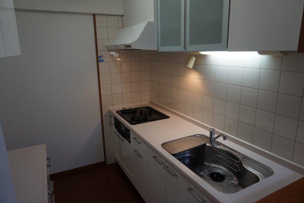 集中できる独立I型キッチン