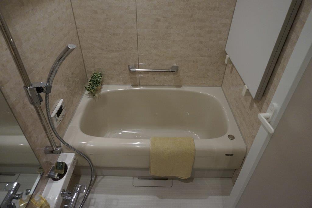 広々お風呂は追炊き付き