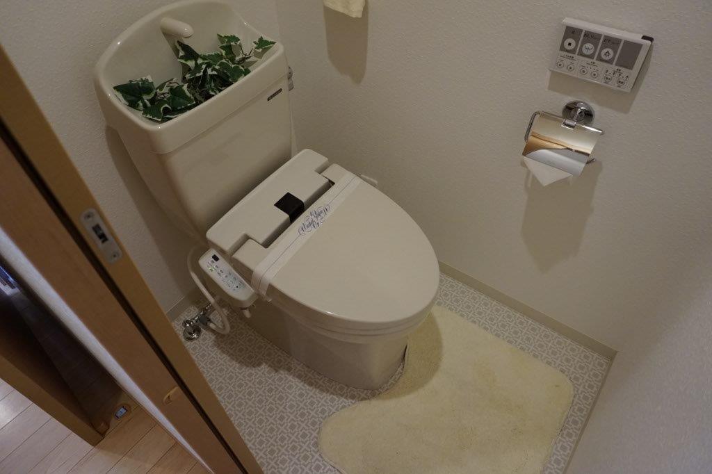 温水洗浄付きトイレはマスト