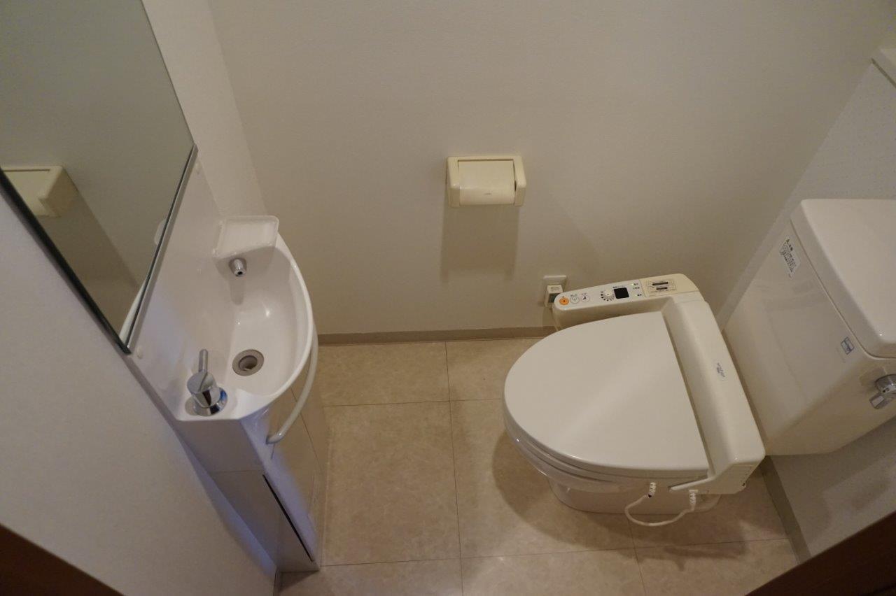 手洗い付きがウレシイトイレ